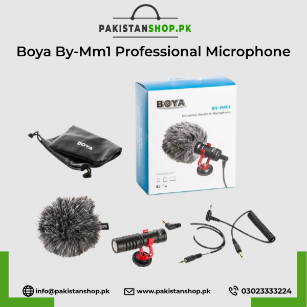 Boya By-Mm1 Professional Microphone