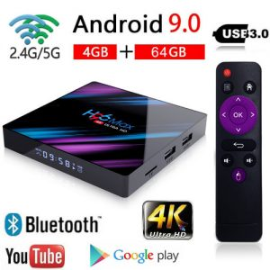 H96 Max 4K Android Box Quad4GB32GBAndroid 9