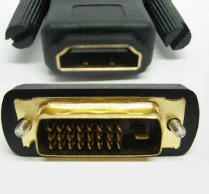 hdmi female to dvi male (24+1) adapter