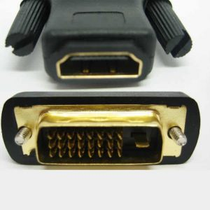 hdmi female to dvi male (24+1) adapter
