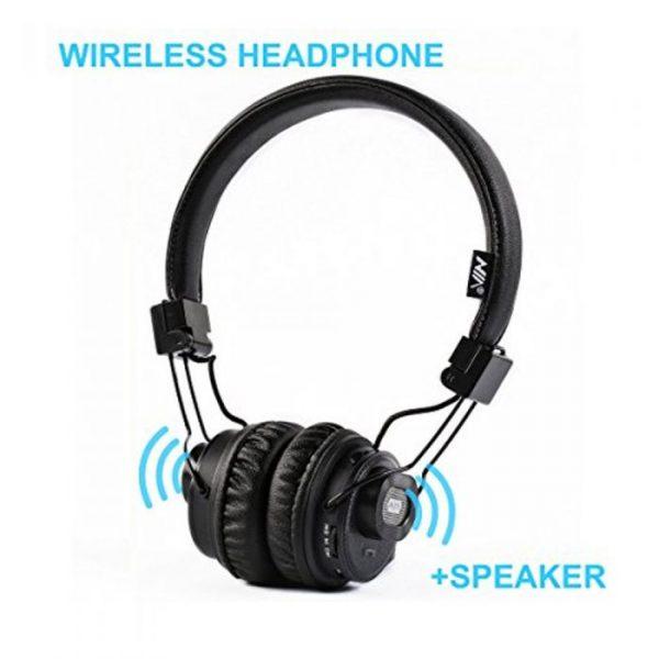 NIA X5SP bluetooth wireless headphone+speaker