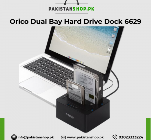 Orico Dual Bay Hard Drive Dock 6629