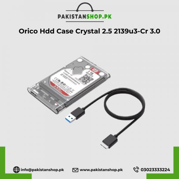 Orico Hdd Case Crystal 2.5 2139u3-Cr 3.0