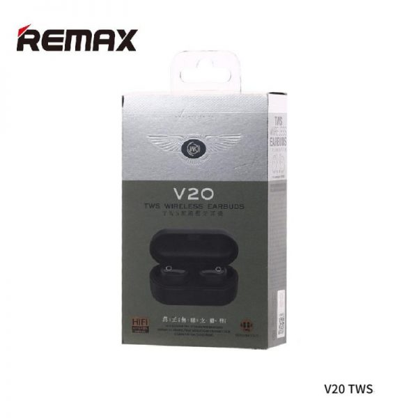 REMAX WK TWS V20 AIRDOTS BLUTOOTH WITH CHARGING DOCK