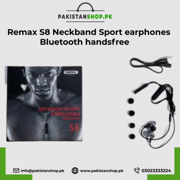 Remax-S8-Neckband-Sport-earphones-Bluetooth-handsfree