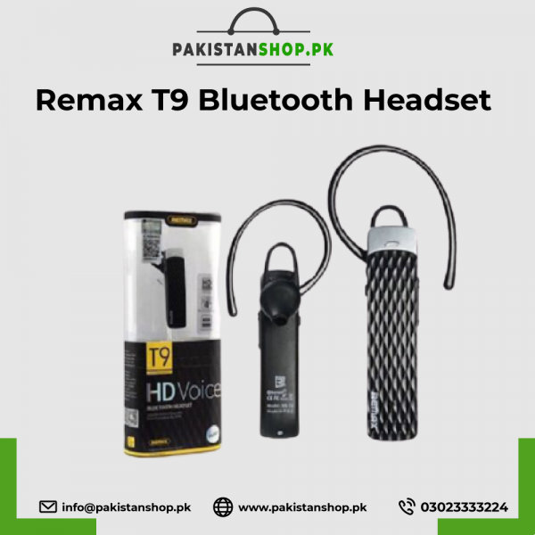 Rremax T9 Bluetooth Headset