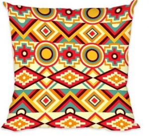 Abstract Seamless Pattern Cushion