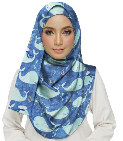 Dolphins Hijab IN STOCK