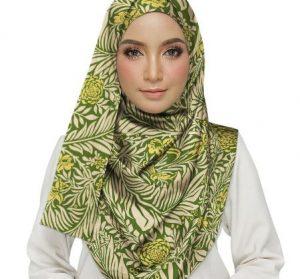 Larkspur Green Hijab