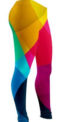 Colorful Shapes Leggings