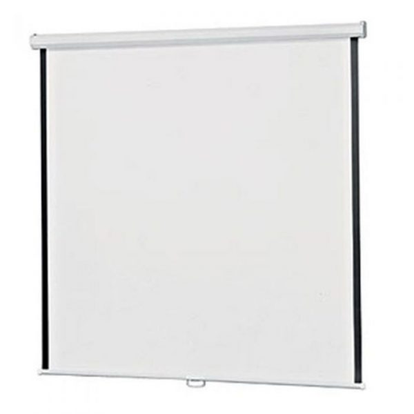 Projector Screen 72 inch Manual 6x6 Feet 1:1MW Speed-X (FINE QUALITY)