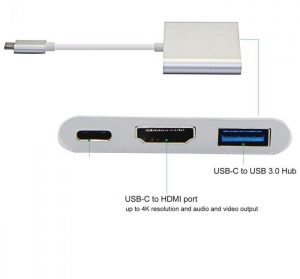 Type C 3.1 to OTG+HDMI+USB3.0