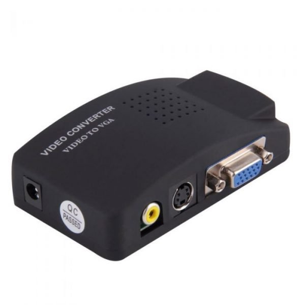 AV to VGA converter (Green Box)