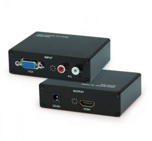 VGA TO HDMI BOX (BROWN BOX)