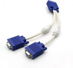 vga Y cable OD 8MM