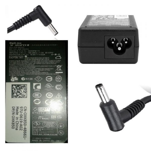 Dell Laptop Charger 19V