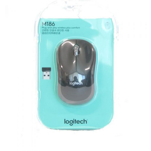 LOGITECH M186 WIRELESS MOUSE