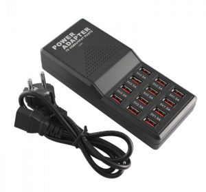 USB FAST CHARGER 12 PORT 12AMP W858
