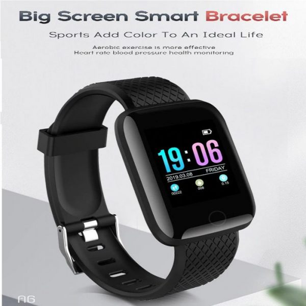 S13 FITNESS BRACELET BLOOD PRESSURE BLUETOOTH HEART RATE MONITOR