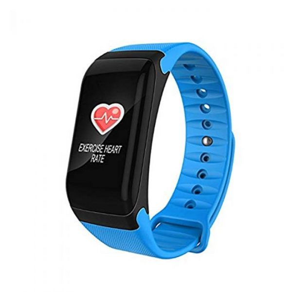 F1 PLUS BLUE BLOOD PRESSURE FITNESS BRACELET