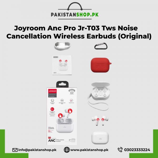 Joyroom Anc Pro Jr-T03 Tws Noise Cancellation Wireless Earbuds (Original)