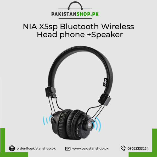 Nia X5sp Bluetooth Wireless Headphone