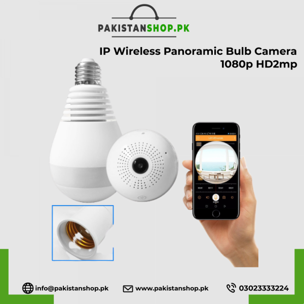 Ip-Wirelss-Panoramic-Bulb-Camera-1080p-