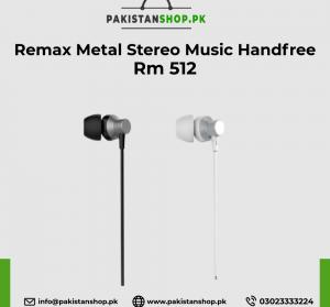 Remax Metal Stereo Music Handfree Rm 512