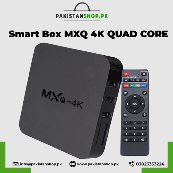 SMART BOX MXQ 4K QUAD CORE 1G+8G