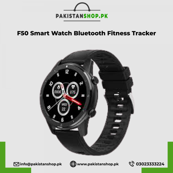 F50 Smart Watch Bluetooth Call Custom Dial Men Heart Rate Fitness Tracker