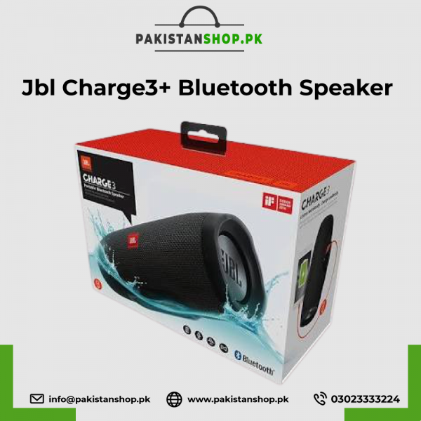Jbl Charge3+ Bluetooth Speaker Big Packing