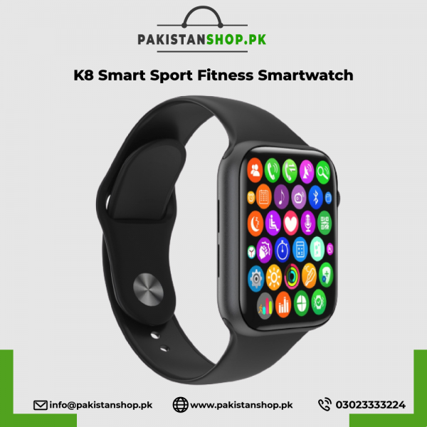 K8 Smart Watch 1.78 Inch Serise 5 44mm Bluetooth Call Sport Fitness Smartwatch