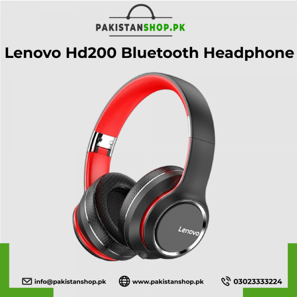 Lenovo-Hd200-Bluetooth-Headphone