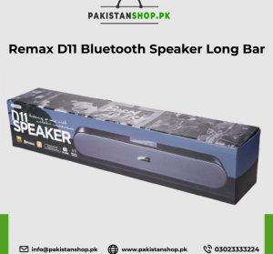 Remax D11 Bluetooth Speaker Long Bar