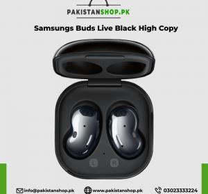 Samsungs Buds Live Black High Copy