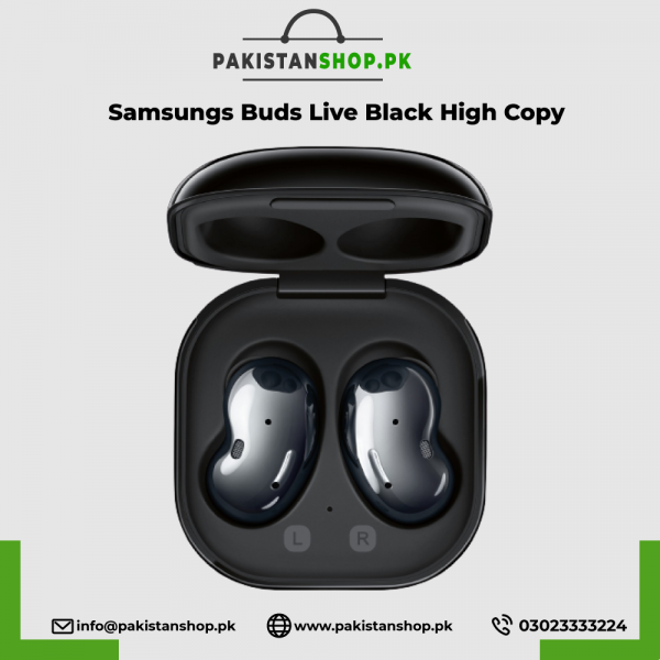Samsungs Buds Live Black High Copy