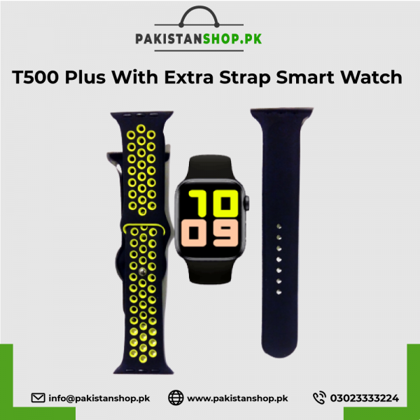 T500-Plus-With-Extra-Strap-Smart-Watch-Bluetooth