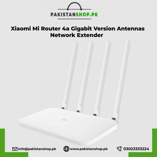 Xiaomi Mi Router 4a Gigabit Version 2.4ghz 5ghz Wifi 1200mbps Wifi Repeater 128mb Ddr3 High Gain 4 Antennas Network Extender