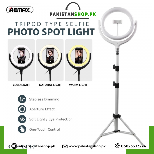 Remax 26cm With Stand Life Desktop Selfi Spot Light Rl-Lt17