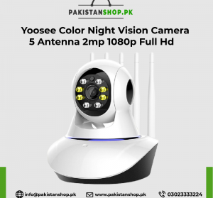 Yoosee Color Night Vision Camera 5 Antenna 2mp 1080p Full Hd