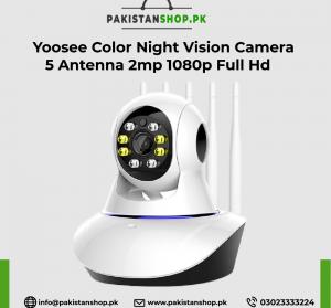 Yoosee Color Night Vision Camera 5 Antenna 2mp 1080p Full Hd